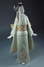 Japanese Hakata Doll, Large Bijin Ningyo, Early Spring