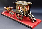 Large Imperial Ox-cart for Japanese Dolls