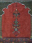 A Hand-Made Wool Prayer Rug, Persia or Caucasus