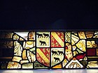 #2 of Three Fine 19th Century Stained Glass Panels