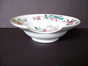 A Famille Rose Barber's Bowl, Yongzheng (1723-1735)