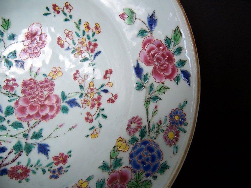 A Famille Rose Barber's Bowl, Yongzheng (1723-1735)