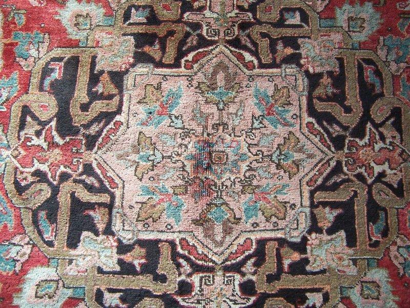 A  Handsome Persian Heriz Rug