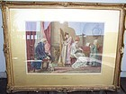 A Very Fine Original Watercolor by 19th Century Master G.G. Kilburne