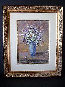 A Fine Original Pastel Still Life Painting