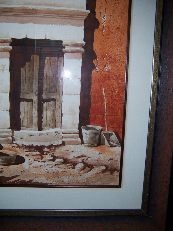 A Fine Peruvian Watercolor Painting