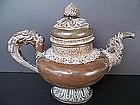 A Good Late 19th / Early 20th Century Tibetan Ewer
