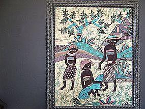 """A Beautiful Indonesian Batik """"Painting"""""""