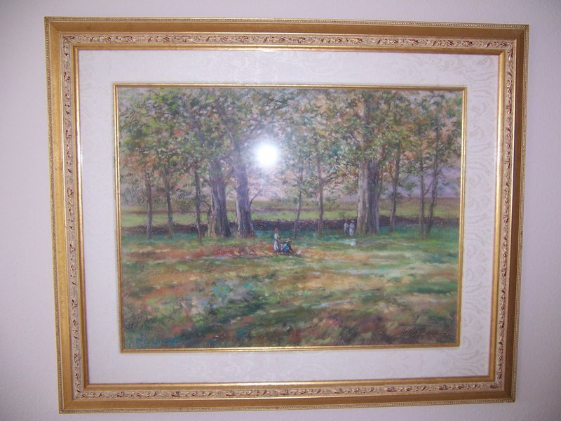 A Good Original Pastel Painting by Luis Bodes