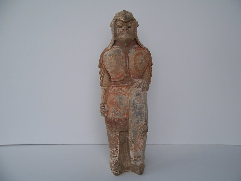 An Exceptional Northern Qi Tomb Guardian, 550-577 AD