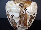 An Exquisite Kinkozan Satsuma Vase, Meiji (1868-1912)