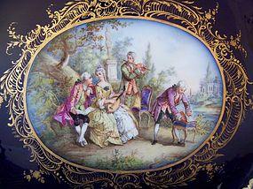 A Very Fine Dresden Porcelain Ensemble, 19th Century