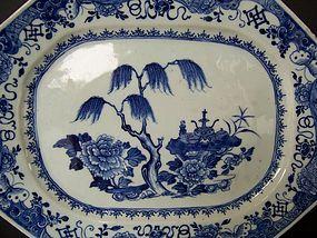 An Unusually Fine Qianlong (1736-1795) Meat Platter