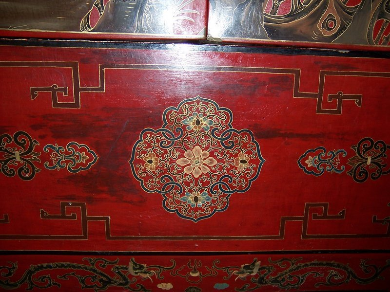 Stunning and Large Lacquered Jumu Cabinet, mid 19th