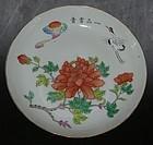 #1 Large flower plate, Tongzhi ( 1862 - 1874 )