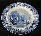 Rörstrand plate around 1830