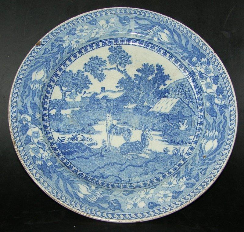 Rörstrand Fallow Dear, 1826 - 1836