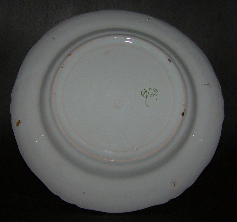18:th century faience plate, around 1760