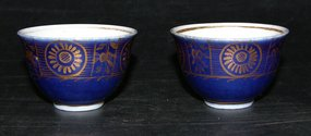 Chinese cups with Meissen mark, Period (1774 - 1813)