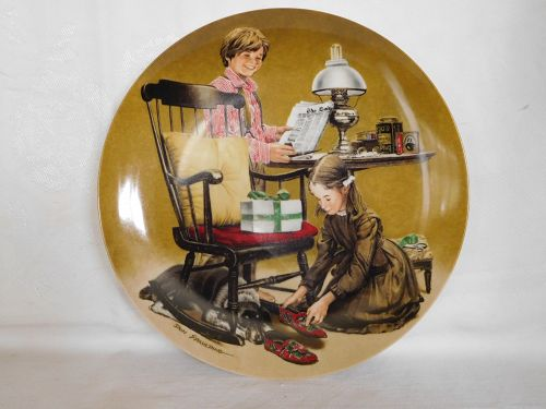 NORMAN ROCKWELL COLLECTION PLATE