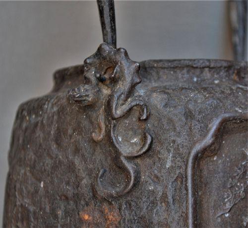Tetsubin. Cast iron teapot .Edo Meiji.