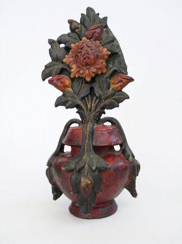 Antique Tibetan Rare Tantric Buddhism Ritual Vase Bumpa