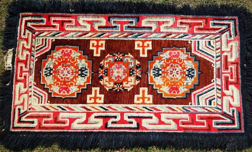 Tibetan carpet, Wangden technique carpet.