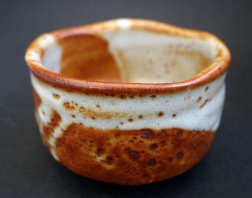 Shino Yaki Tea Cup Chawan, Tea Ceremony, Macha Tea