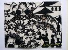 Very Rare Stencil Kappazuri Print, Yoshitoshi Mori. Dated 1957