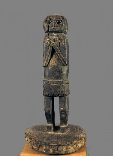 Standing protector, Himalayan primitive figure N°71, Himalaya, Nepal