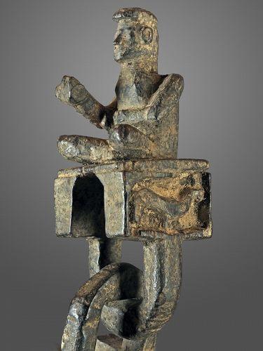 Anthropomorphic chain model Ghurra N°158, Himalaya, Nepal