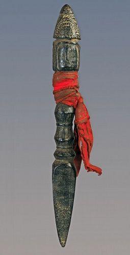 Shamanic phurbu N°192, Himalaya, Nepal