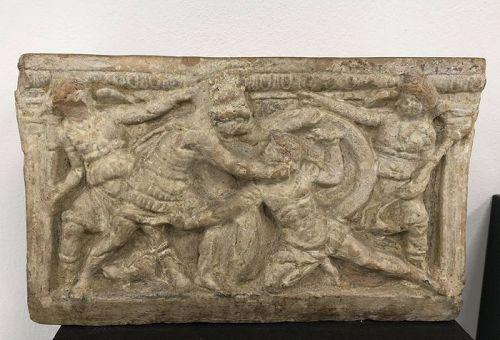 Etruscan Terracotta Cinerary urn, 4th-3rd century BC