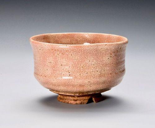 Kyo-ware Tea Bowl by Kanpu Kawanabe