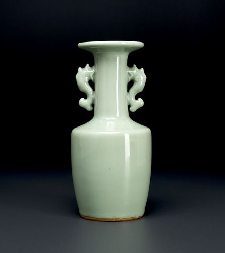 A Mallet Vase by Imperial Court Artist Suwa Sozan