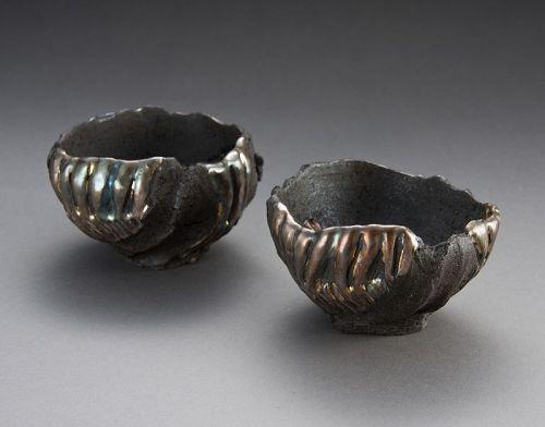 A Set of Sake Cups by Hiramatsu Ryoma