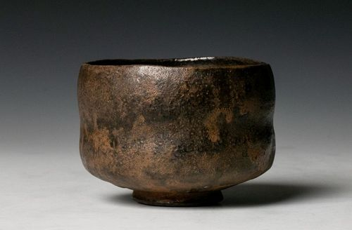 An Exceptional Raku Tea Bowl by Sugimoto Sadamitsu