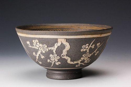 A Patterned Bowl from the Shinragi Kiln
