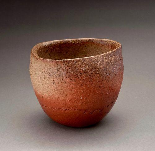 A Bizen Tea Bowl by Isezaki Koichiro