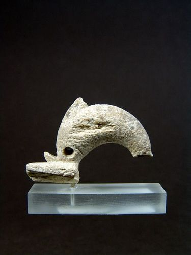 Greek Bone Dolphin Fibula Element, around 300 BC