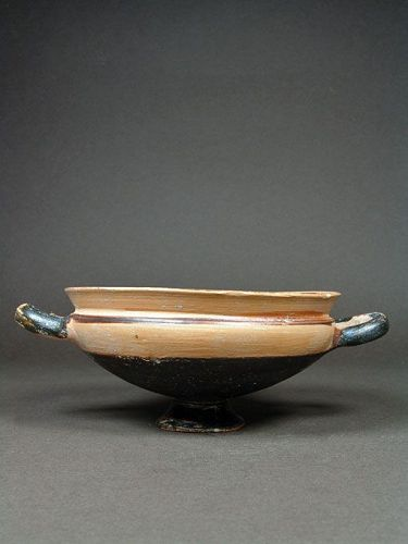 Large Greek Ionian Type Kylix, South Italy, circa 550 BC