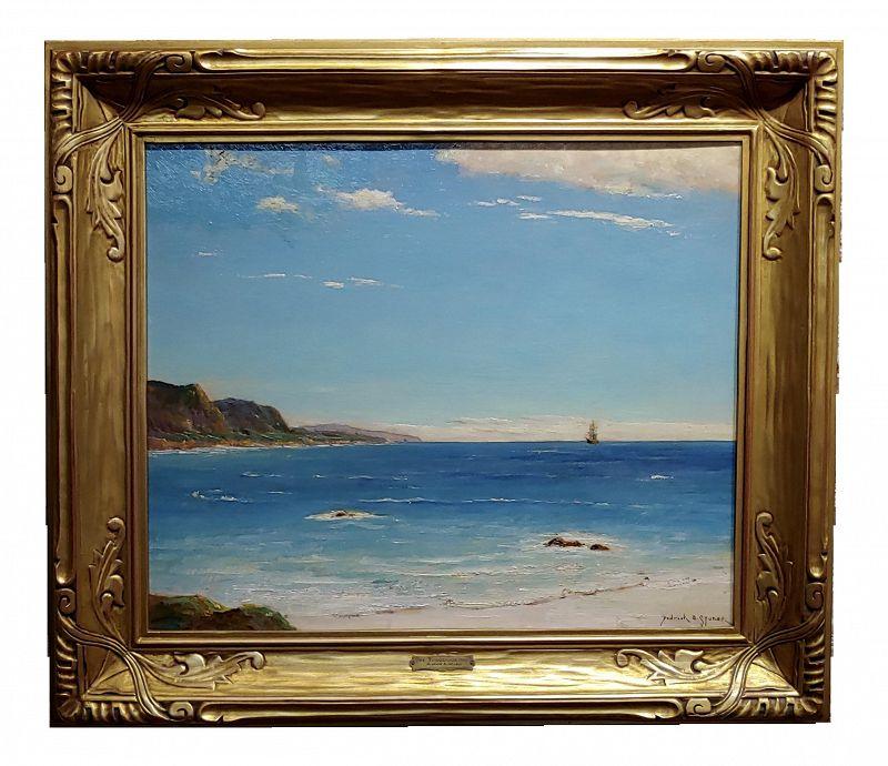 Dedrick Stuber -Beautiful 1920s California Turquoise Beach
