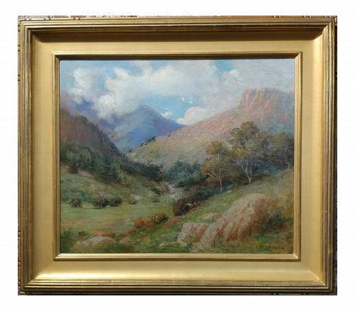 William Lees Judson California Landscape Oil Painting