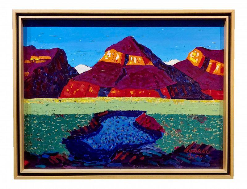 Conrad Buff - Mountain & Lake Landscape - Oil Painting