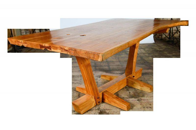 George Nakashima Style Conoid Dining table