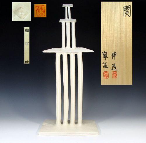Architectural Ceramic Sculpture by Fujihira Shin