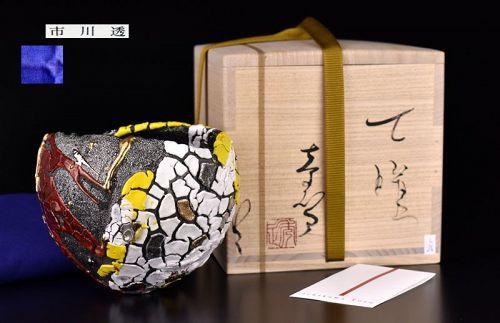 For Celebrities,Gorgeous Chawan Tea Bowl by Ichikawa Toru