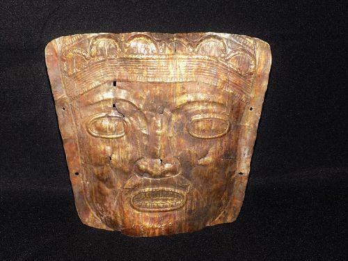 Pre-Columbian Gold Burial Mask, Central America, Panama