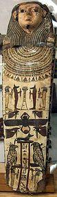 Beautiful Large Egyptian Coffin Lid!