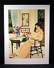 Original Serigraph by Susan Rios, New Place